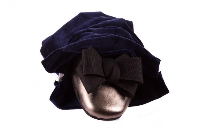 Baleriny viscala 11870.21 platynowy, skóra naturalna - skórzane - baleriny - buty damskie - kobieta 7