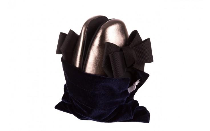 Baleriny viscala 11870.21 platynowy, skóra naturalna - skórzane - baleriny - buty damskie - kobieta 6