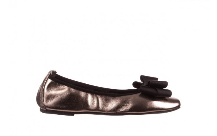 Baleriny viscala 11870.21 platynowy, skóra naturalna - skórzane - baleriny - buty damskie - kobieta