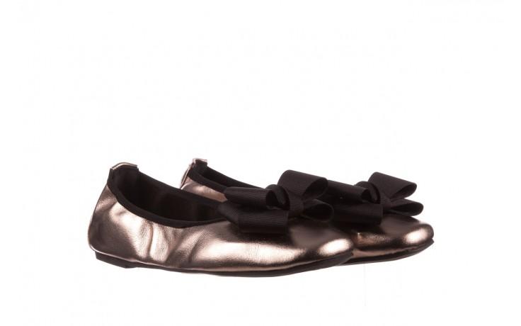 Baleriny viscala 11870.21 platynowy, skóra naturalna - skórzane - baleriny - buty damskie - kobieta 1