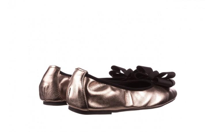 Baleriny viscala 11870.21 platynowy, skóra naturalna - skórzane - baleriny - buty damskie - kobieta 3