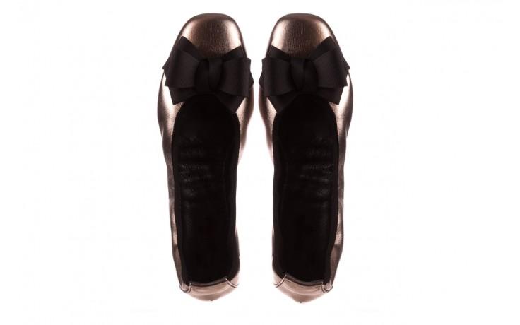 Baleriny viscala 11870.21 platynowy, skóra naturalna - skórzane - baleriny - buty damskie - kobieta 4