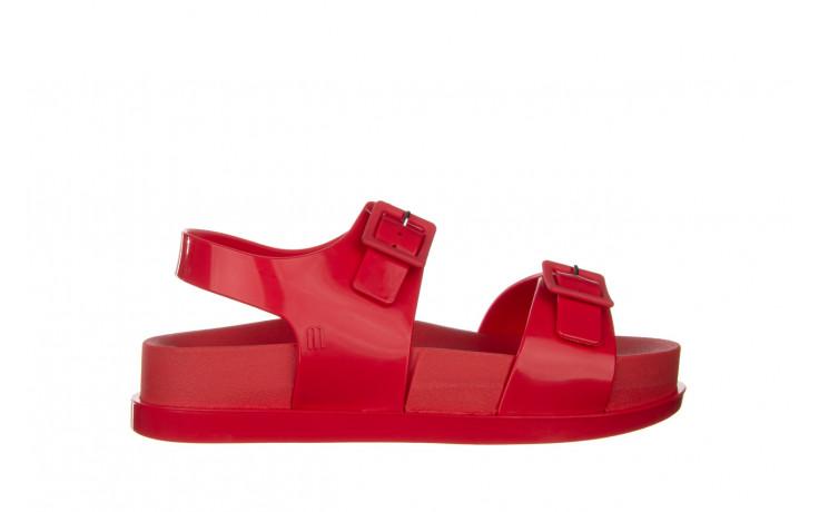 Sandały melissa wide platform ad red 010363, czerwony, guma - nowości