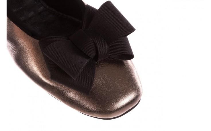 Baleriny viscala 11870.21 platynowy, skóra naturalna - skórzane - baleriny - buty damskie - kobieta 5