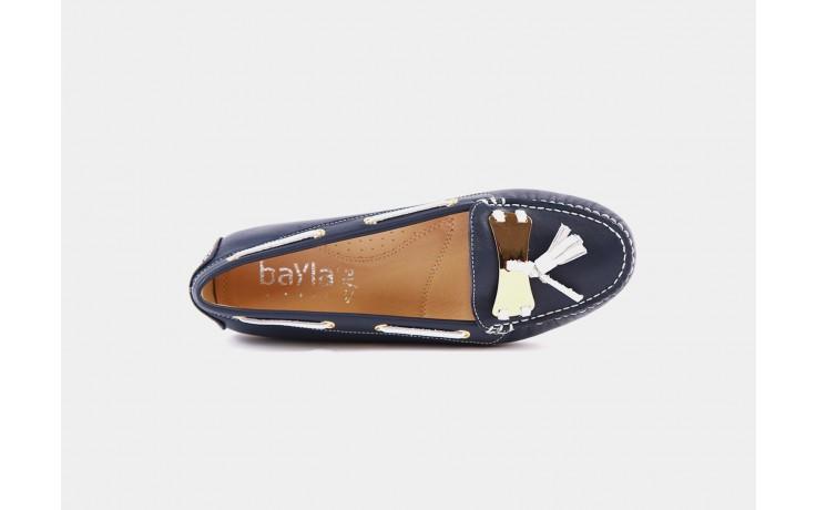 Bayla 317-77b navy white napa - bayla - nasze marki 1