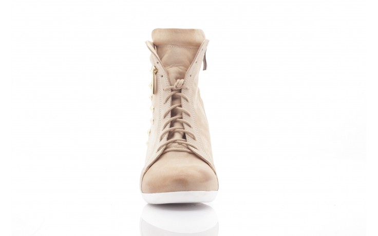 Sneakersy top but 805-4 beż, skóra naturalna 2