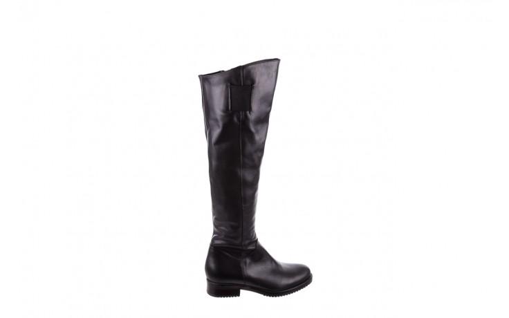 Kozaki bayla-056 4086-08 czarny, skóra naturalna - kozaki - buty damskie - kobieta