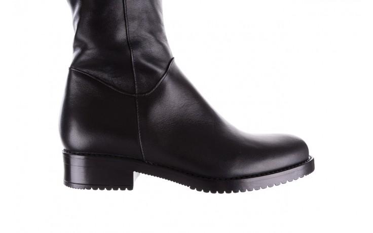 Kozaki bayla-056 4086-08 czarny, skóra naturalna - kozaki - buty damskie - kobieta 7