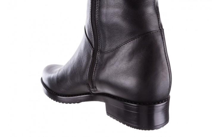 Kozaki bayla-056 4086-08 czarny, skóra naturalna - kozaki - buty damskie - kobieta 4