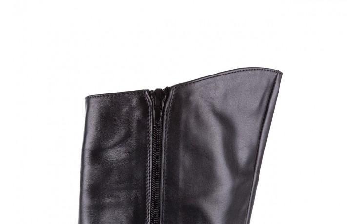 Kozaki bayla-056 4086-08 czarny, skóra naturalna - kozaki - buty damskie - kobieta 5