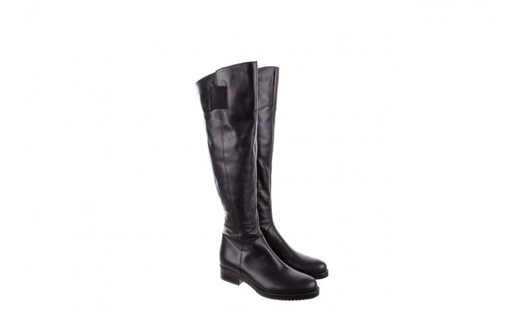 Kozaki bayla-056 4086-08 czarny, skóra naturalna - kozaki - buty damskie - kobieta 1
