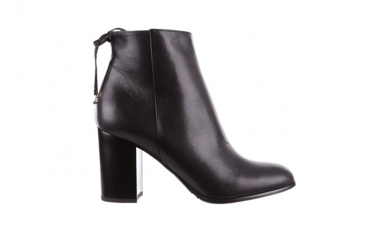 Botki bayla-056 9086-08 czarne, skóra naturalna - skórzane - botki - buty damskie - kobieta