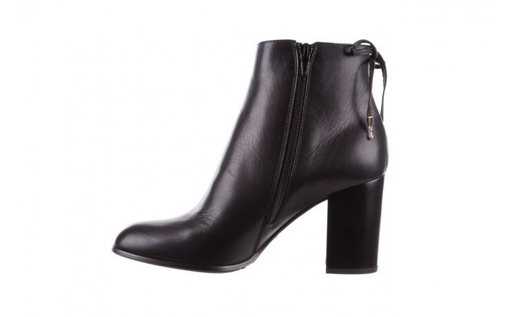 Botki bayla-056 9086-08 czarne, skóra naturalna - skórzane - botki - buty damskie - kobieta 2