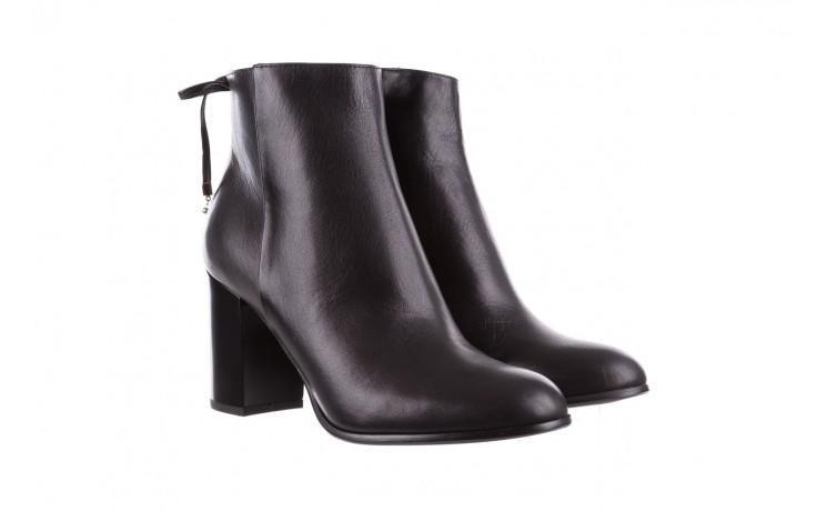 Botki bayla-056 9086-08 czarne, skóra naturalna - skórzane - botki - buty damskie - kobieta 1
