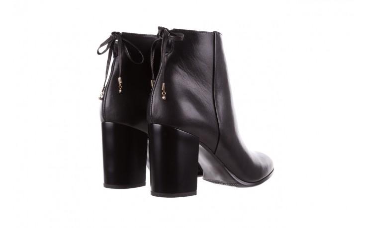 Botki bayla-056 9086-08 czarne, skóra naturalna - skórzane - botki - buty damskie - kobieta 3