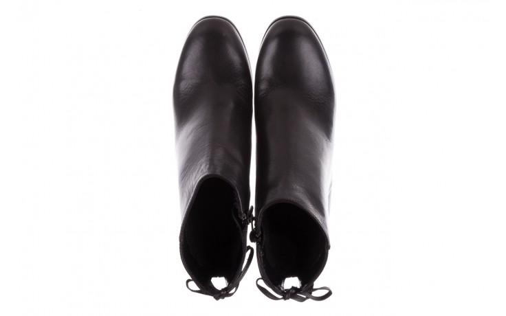 Botki bayla-056 9086-08 czarne, skóra naturalna - skórzane - botki - buty damskie - kobieta 4