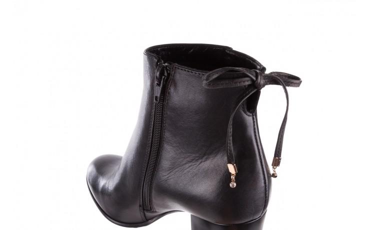 Botki bayla-056 9086-08 czarne, skóra naturalna - skórzane - botki - buty damskie - kobieta 6