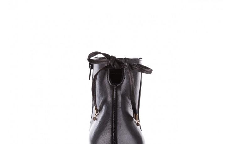 Botki bayla-056 9086-08 czarne, skóra naturalna - skórzane - botki - buty damskie - kobieta 7