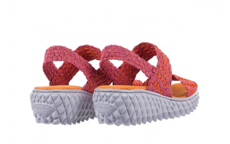 Sandały rock roxana andromeda, róż, materiał  - rock - nasze marki 3