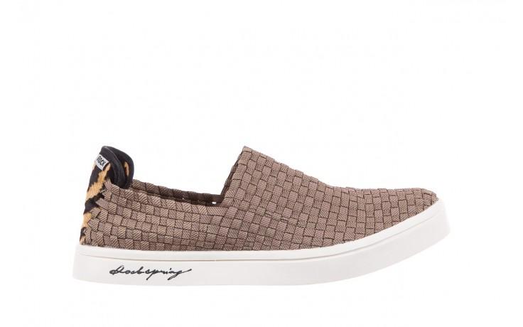 Trampki rock cruiser s ratan, brąz, materiał  - obuwie sportowe - dla niej - dodatkowe -10%