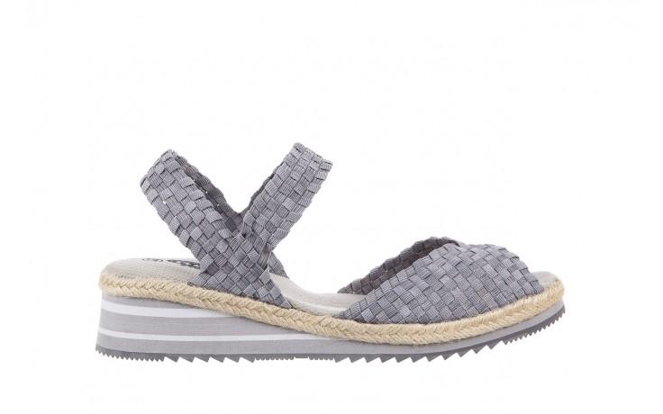 Sandały rock maracuja grey, szary, materiał - rock - nasze marki