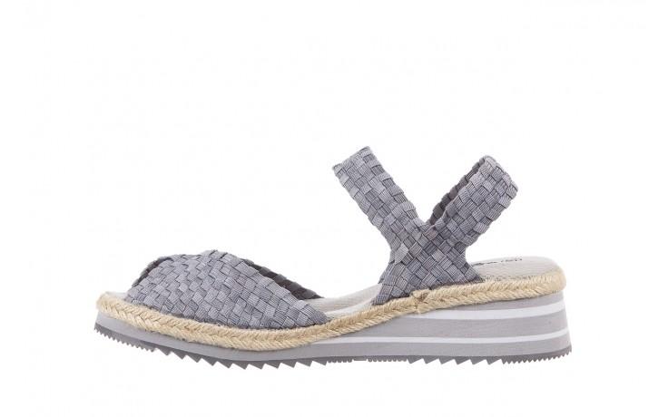 Sandały rock maracuja grey, szary, materiał - rock - nasze marki 2