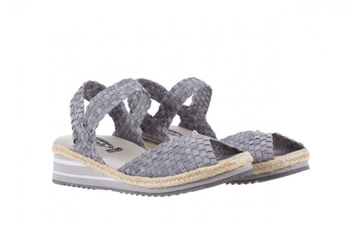 Sandały rock maracuja grey, szary, materiał - rock - nasze marki 1