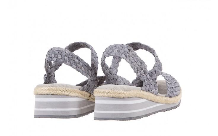 Sandały rock maracuja grey, szary, materiał - rock - nasze marki 3