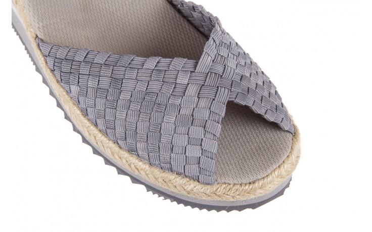 Sandały rock maracuja grey, szary, materiał - rock - nasze marki 4