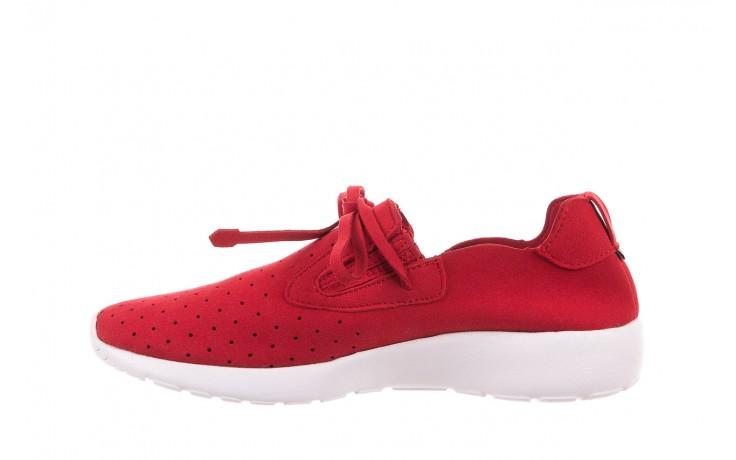 Półbuty rock mistrale red, czerwony, materiał  - obuwie sportowe - buty damskie - kobieta 2