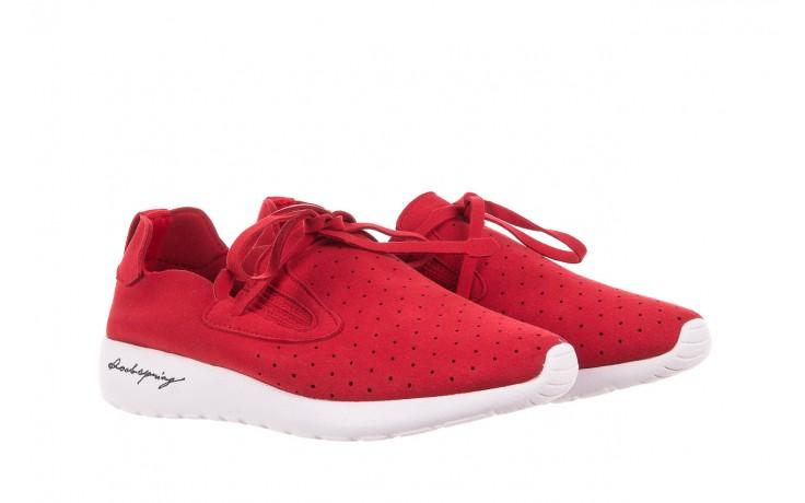 Półbuty rock mistrale red, czerwony, materiał  - obuwie sportowe - buty damskie - kobieta 1