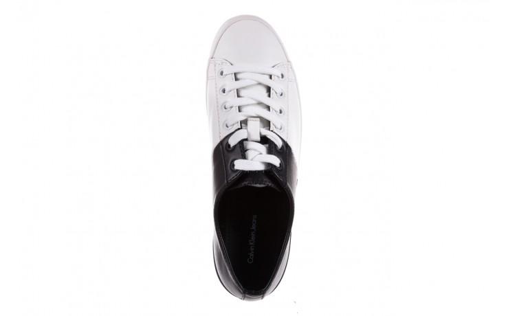 Calvin klein jeans wanda matte smooth black-white 3 - calvin klein jeans - nasze marki 4