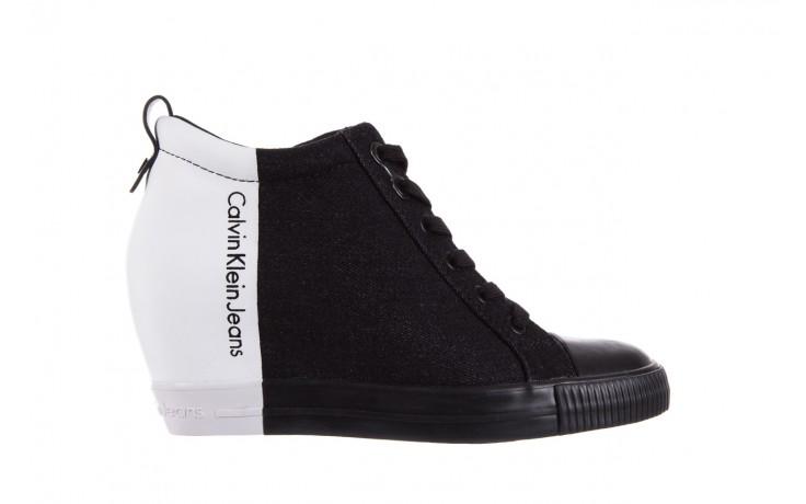 Calvin klein jeans rizzo denim black-off white - calvin klein jeans - nasze marki