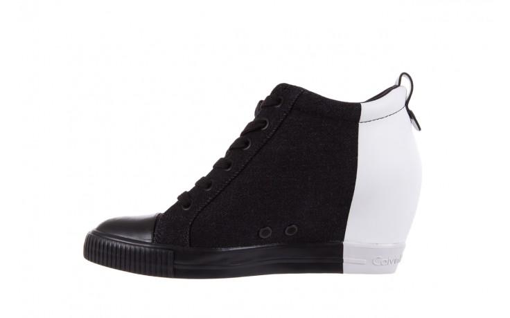 Calvin klein jeans rizzo denim black-off white - calvin klein jeans - nasze marki 2