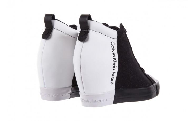 Calvin klein jeans rizzo denim black-off white - calvin klein jeans - nasze marki 3