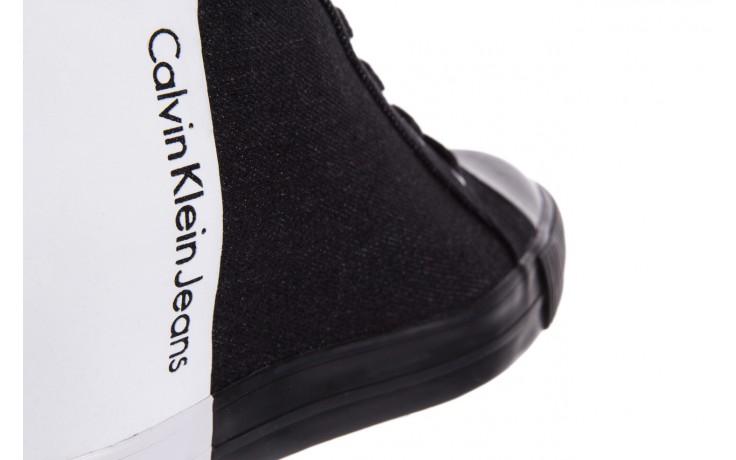 Calvin klein jeans rizzo denim black-off white - calvin klein jeans - nasze marki 5