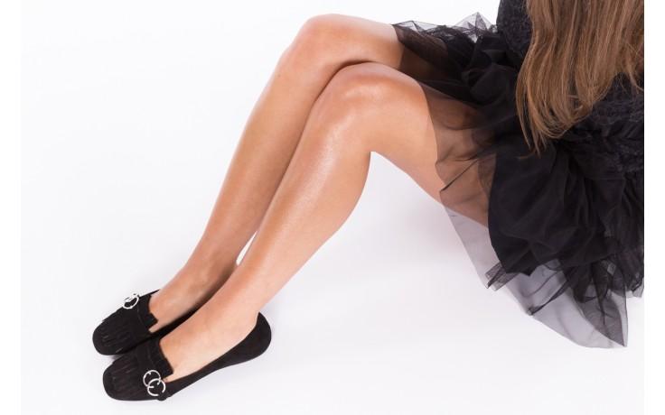 Lordsy bayla-174 mi3702 czarny, skóra naturalna  - mokasyny i lordsy - półbuty - buty damskie - kobieta 2