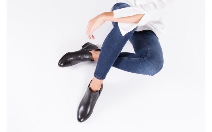 Botki bayla-076 1592 czarny, skóra naturalna  - sztyblety - botki - buty damskie - kobieta 2
