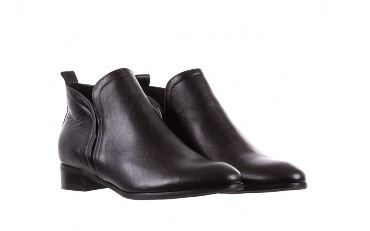 Botki bayla-076 1592 czarny, skóra naturalna  - sztyblety - botki - buty damskie - kobieta 1