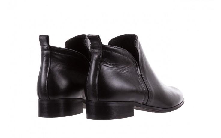 Botki bayla-076 1592 czarny, skóra naturalna  - sztyblety - botki - buty damskie - kobieta 4