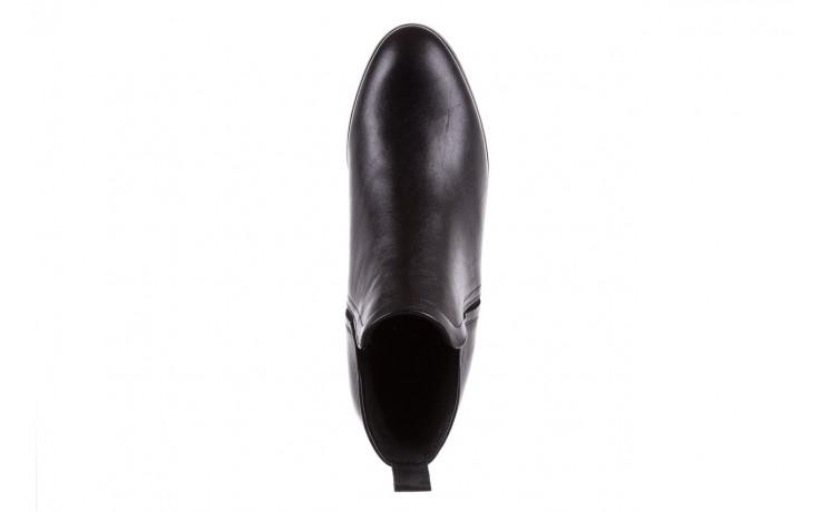 Botki bayla-076 1592 czarny, skóra naturalna  - sztyblety - botki - buty damskie - kobieta 5