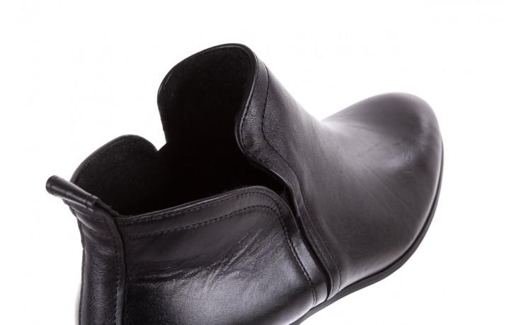 Botki bayla-076 1592 czarny, skóra naturalna  - sztyblety - botki - buty damskie - kobieta 6