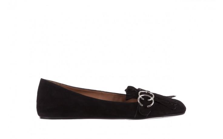 Lordsy bayla-174 mi3702 czarny, skóra naturalna  - mokasyny i lordsy - półbuty - buty damskie - kobieta