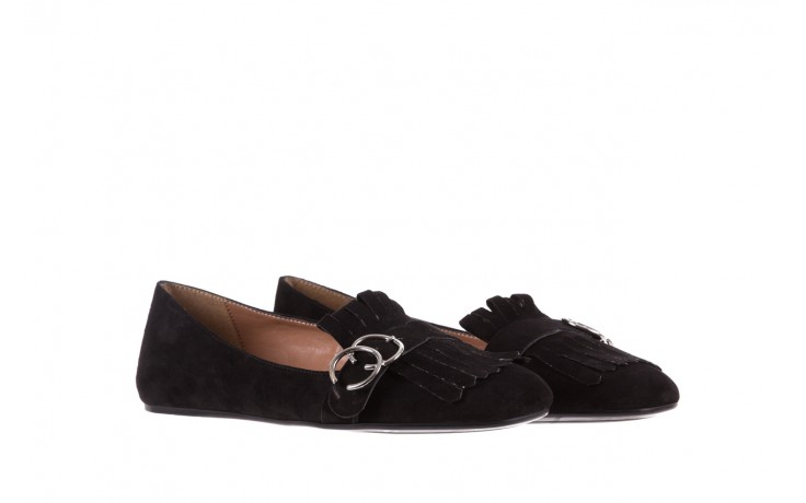 Lordsy bayla-174 mi3702 czarny, skóra naturalna  - mokasyny i lordsy - półbuty - buty damskie - kobieta 1