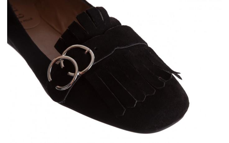 Lordsy bayla-174 mi3702 czarny, skóra naturalna  - mokasyny i lordsy - półbuty - buty damskie - kobieta 6