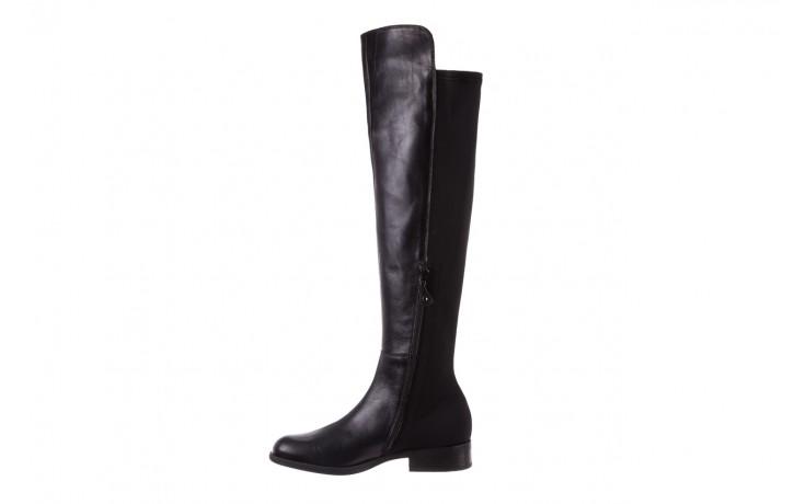 Kozaki bayla-174 mh0490 czarne lico, skóra naturalna - płaskie - kozaki - buty damskie - kobieta 3
