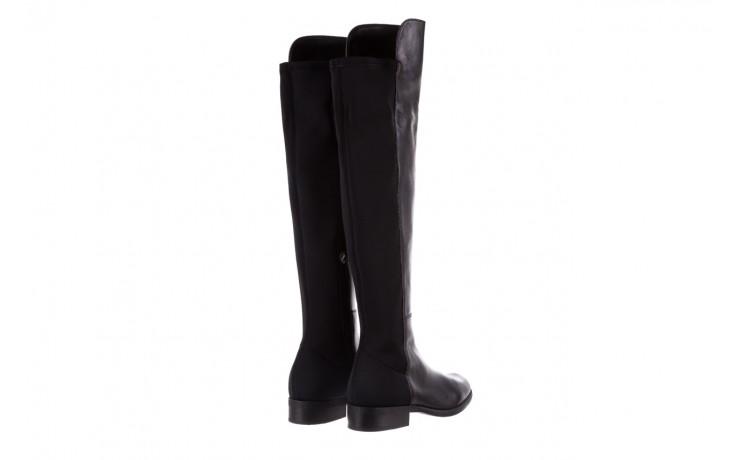 Kozaki bayla-174 mh0490 czarne lico, skóra naturalna - płaskie - kozaki - buty damskie - kobieta 4