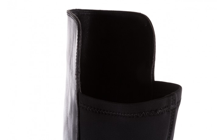 Kozaki bayla-174 mh0490 czarne lico, skóra naturalna - płaskie - kozaki - buty damskie - kobieta 8