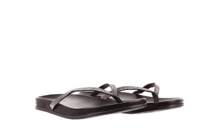 Klapki bayla-163 17-189 black, czarny, skóra naturalna 1