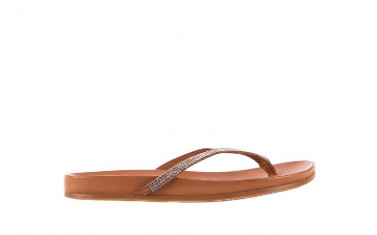 Bayla-163 17-189 tan - japonki - klapki - buty damskie - kobieta